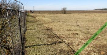 Весенняя вспашка земельного участка
