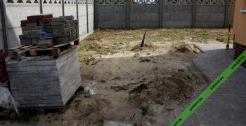 Остатки мусора и плитки