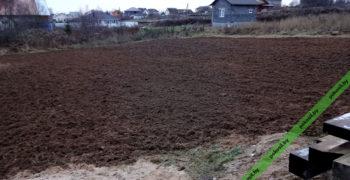 Вспашка и фрезерование земли